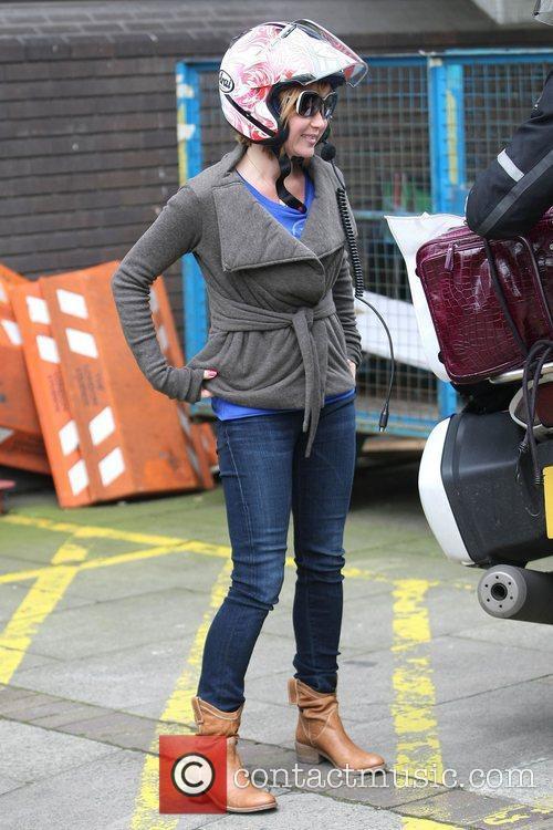Amanda Holden at the ITV studios