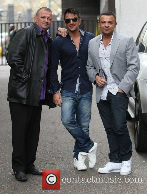 Peter Andre and Itv Studios 9