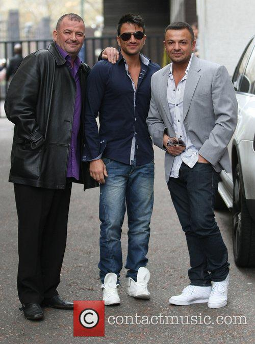Peter Andre and Itv Studios 11