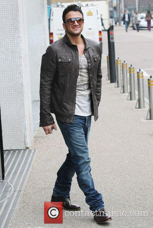 Peter Andre at the ITV studios London, England