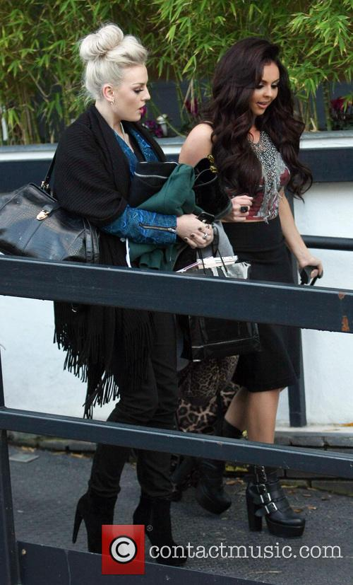 Celebrities outside the ITV studios  Featuring: Perrie...
