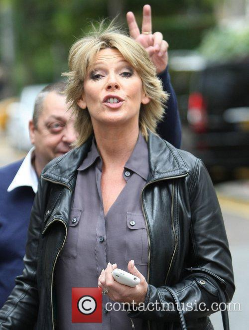 Ruth Langsford outside the ITV studios  London,...
