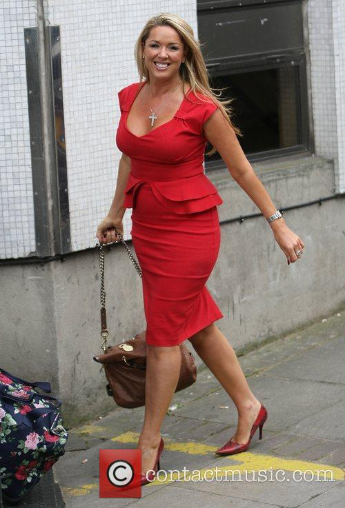 Claire Sweeney at the ITV studios London, England