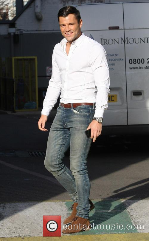celebrities at the itv studios featuring mark 20006130