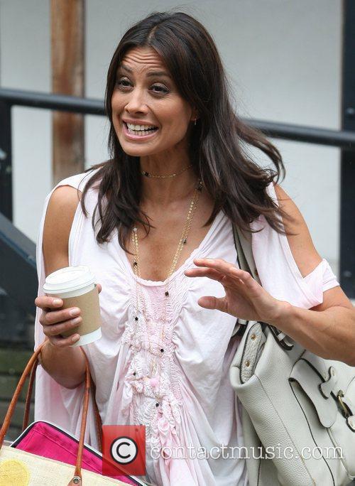 Melanie Sykes at the ITV studios  London,...