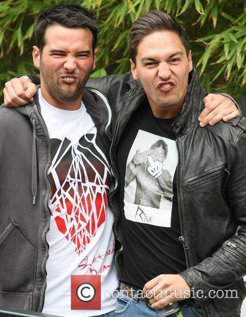 Ricky Rayment and Mario Falcone from The Only...