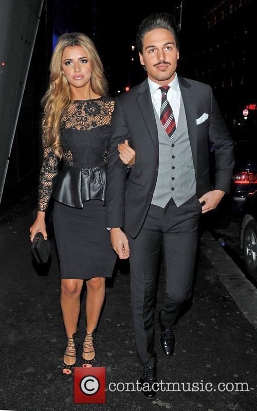 Lucy Mecklenburgh and Mario Falcone 2