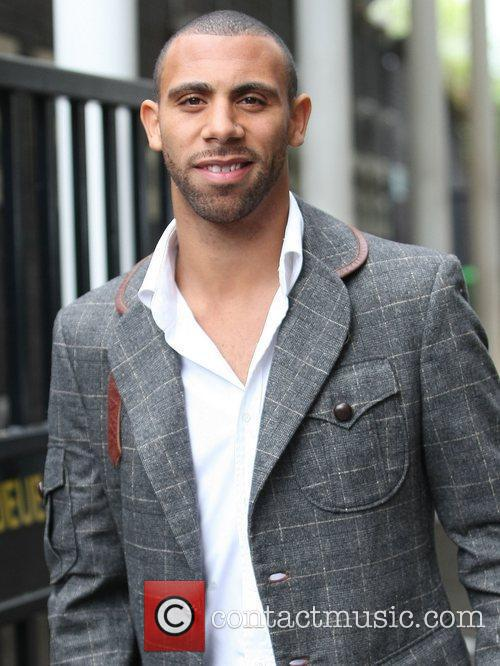 Anton Ferdinand at the ITV studios London, England