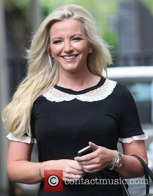 Michelle Mone at the ITV studios London, England