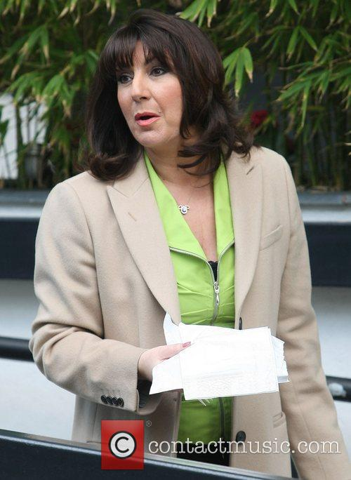 Jane McDonald at the ITV studios London, England