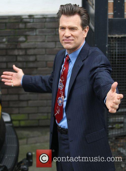 Chris Isaak at the ITV studios London, England