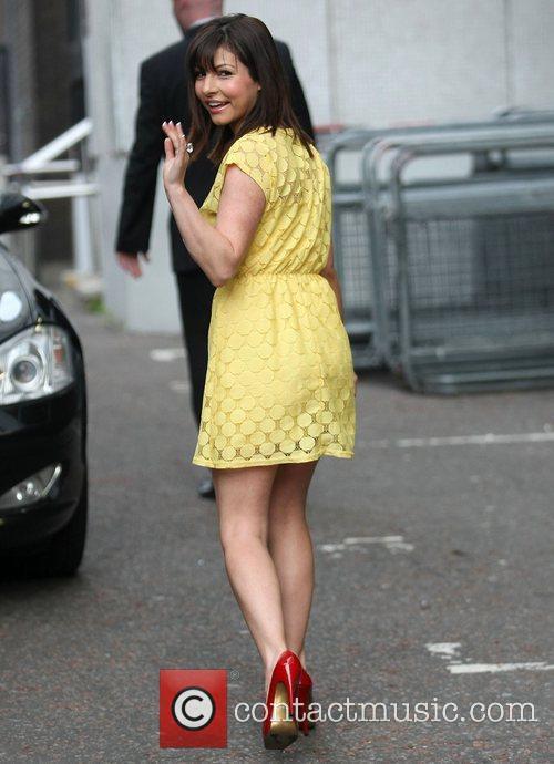 Roxanne Pallett at the ITV studios London, England