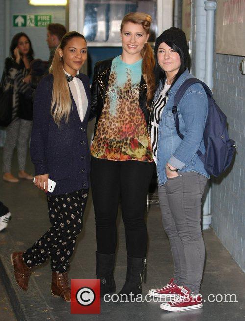 X Factor finalists Jade Ellis, Ella Henderson and...