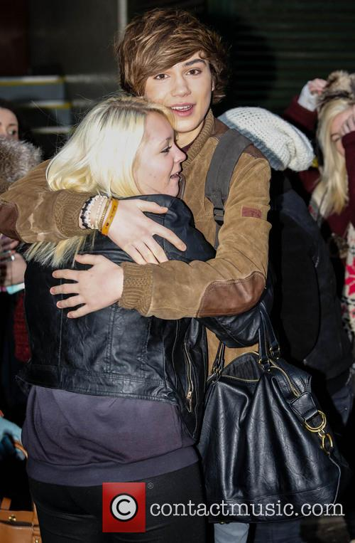 George Shelley Celebrities at the ITV studios...