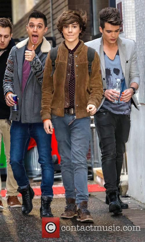 Jamie 'JJ' Hamblett; George Shelley; Josh Cuthbert Celebrities...