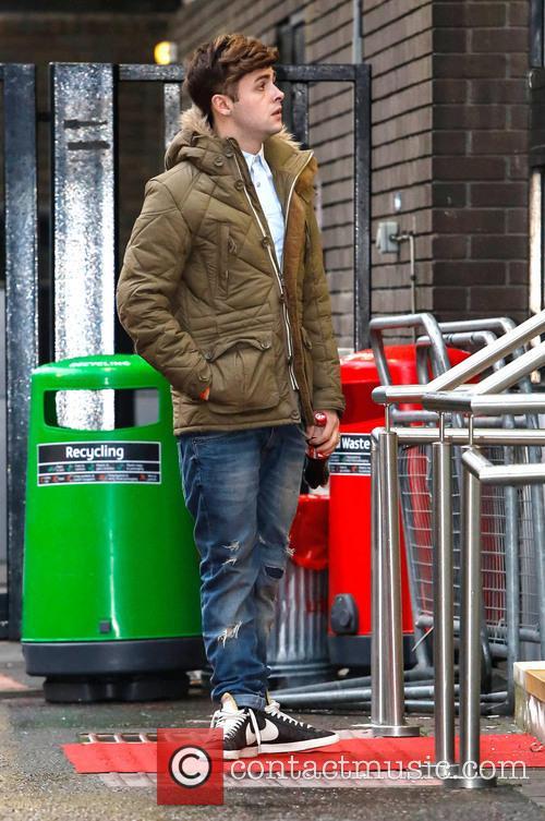 Jaymi Hensley Celebrities at the ITV studios...