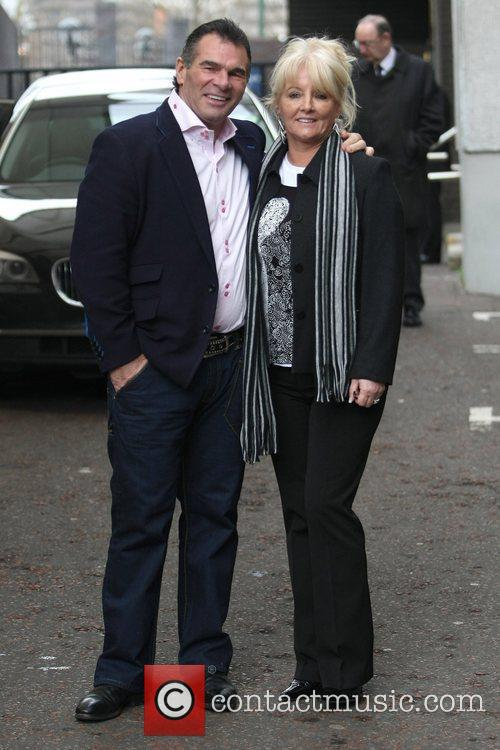 Paddy Doherty and his wife Roseanne outside the...