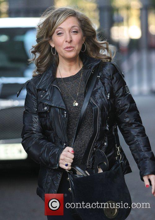 Tracy-Ann Oberman at the ITV studios London, England...