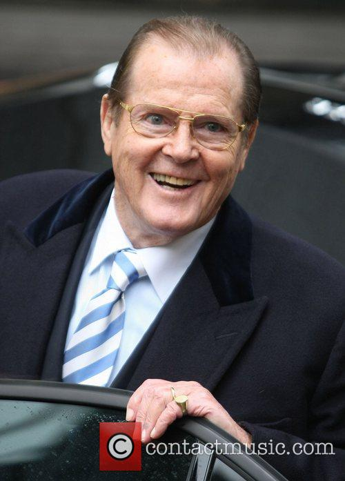 Sir Roger Moore and Itv Studios 1