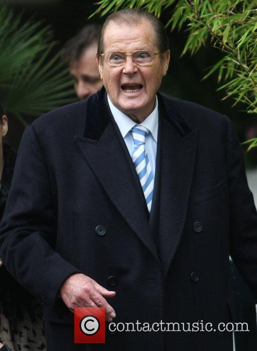 Sir Roger Moore and Itv Studios 5