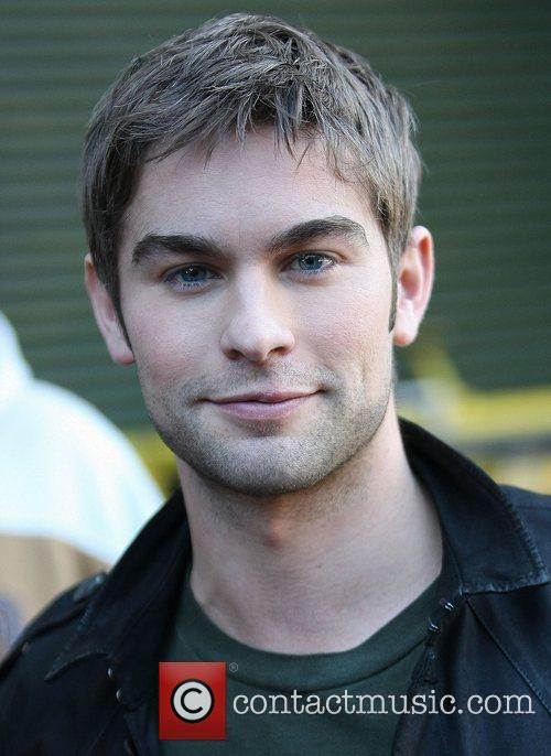 Chace Crawford at the ITV studios London, England