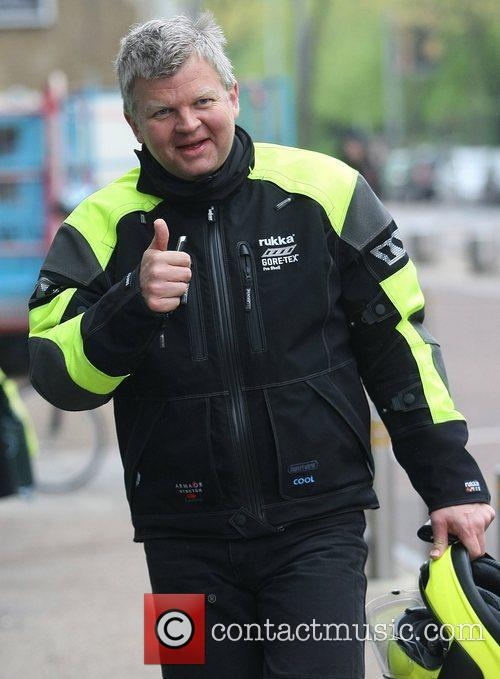 adrian chiles outside the itv studios london 3862837