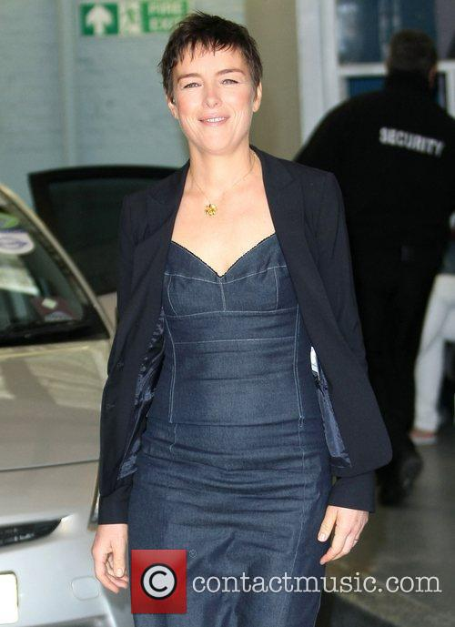 Olivia Williams at the ITV studios London, England
