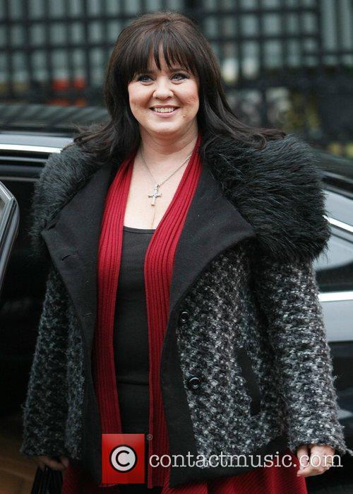 Colleen Nan Celebrities outside the ITV studios...