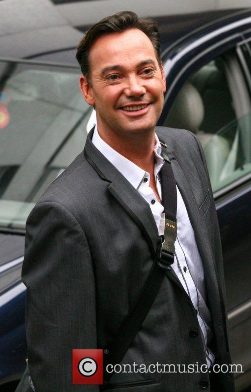 Craig Revel Horwood outside the ITV studios London,...