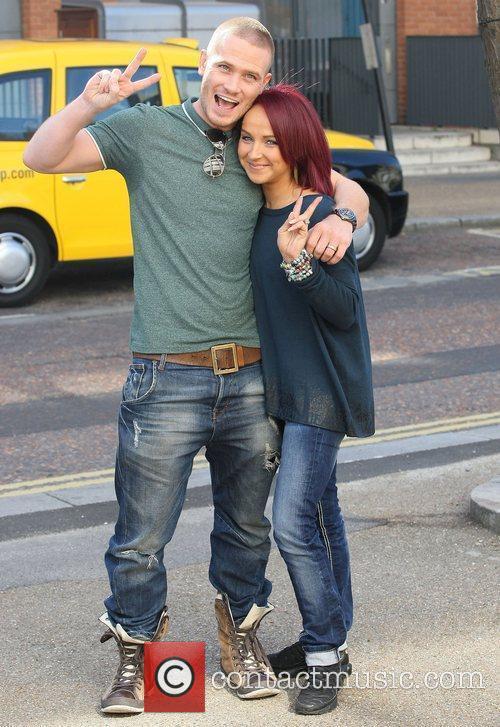 Matthew Wolfenden and Nina Ulanova at the ITV...