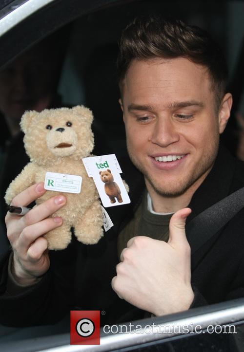 Celebrities at the ITV studios  Featuring: Olly...