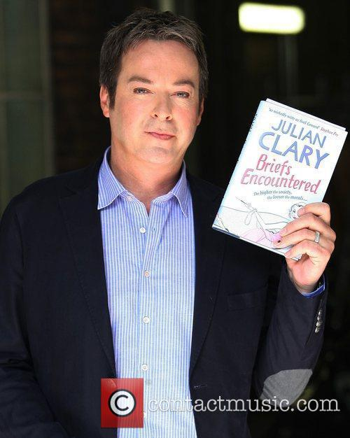 Julian Clary at the ITV studios London, England