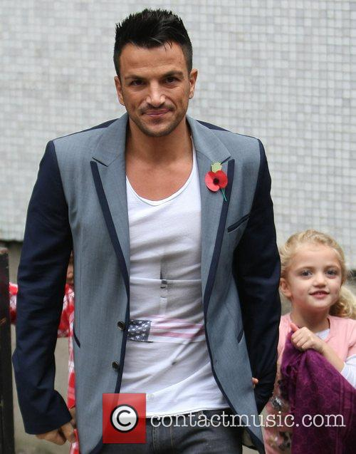 Peter Andre with his daughter Princess Tiaamii Andre...