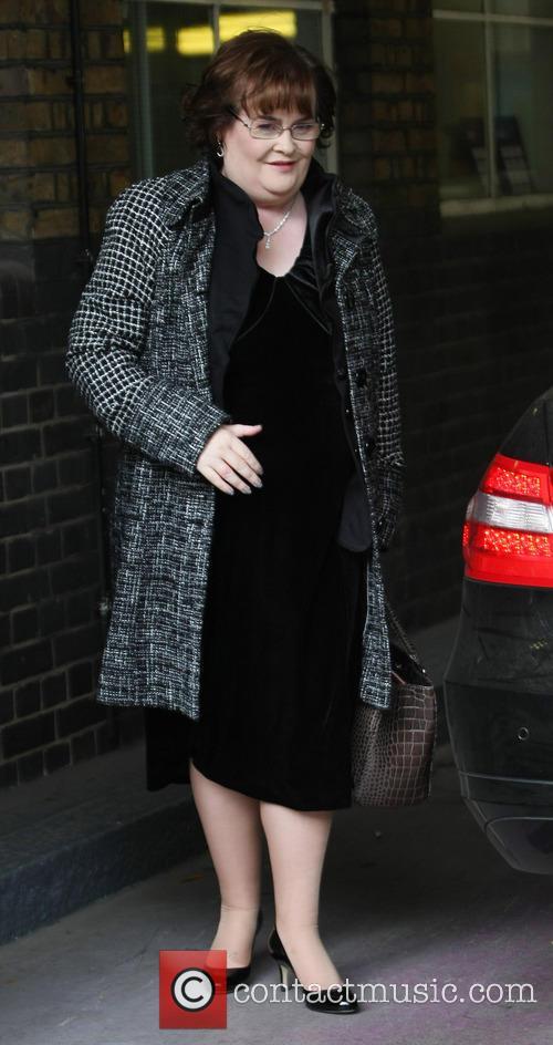 Celebrities at the ITV studios  Featuring: Susan...