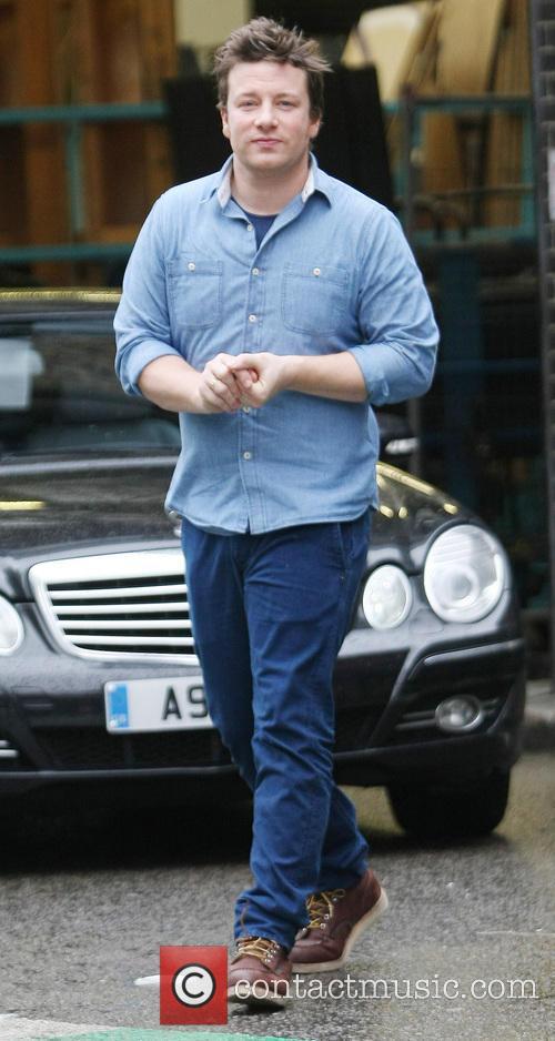 Celebrities at the ITV studios  Featuring: Jamie...