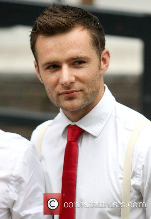 Harry Judd of McFly at the ITV studios...