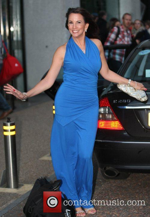 Andrea McLean at the ITV studios  London,...
