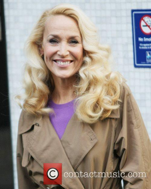 Jerry Hall and Itv Studios 3