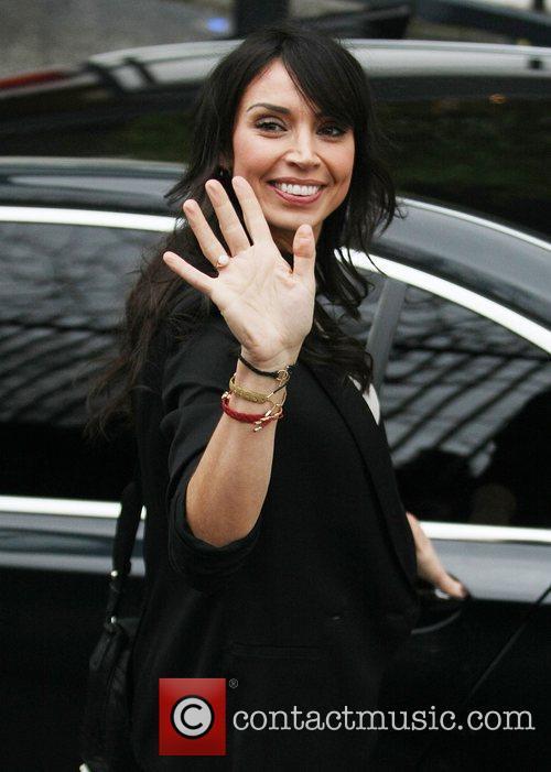 Christine Bleakley leaving the ITV Studios London, England