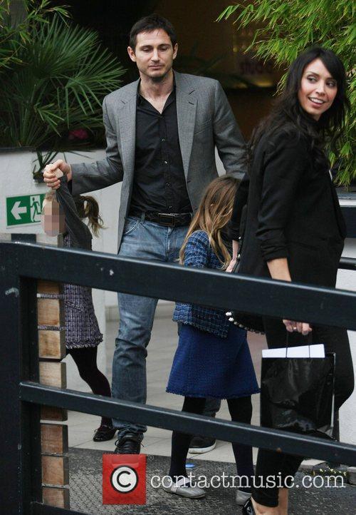Frank Lampard, Isla Lampard, Christine Bleakley and Luna...