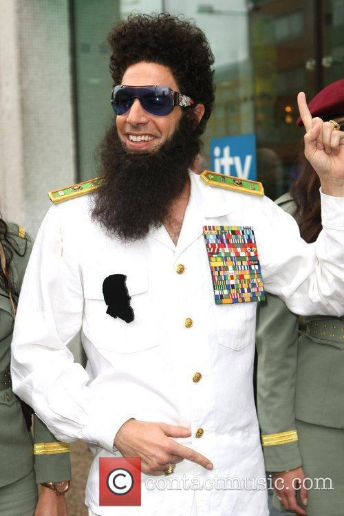 sacha baron cohen as the dictator arriving 5838490