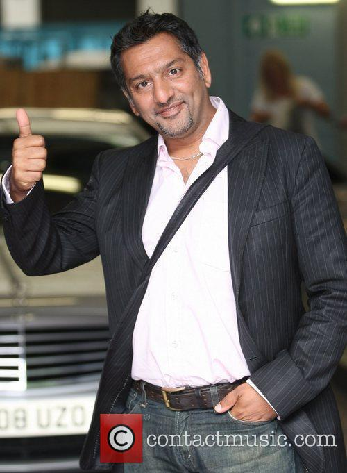 Nitin Ganatra outside the ITV studios London, England