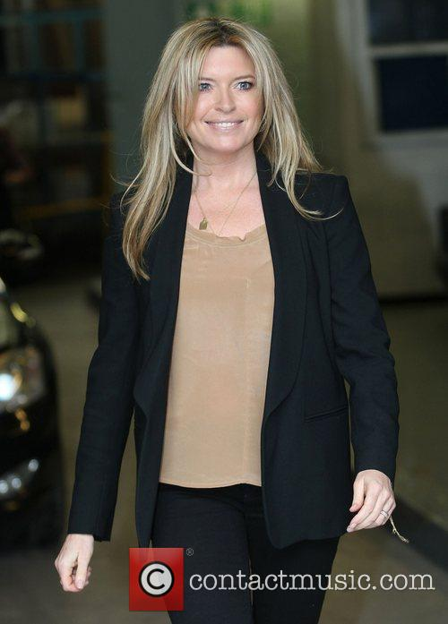 Tina Hobley at the ITV studios London, England