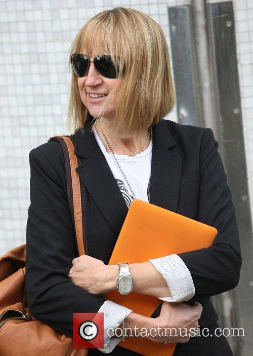 Carol McGiffin at the ITV studios London, England