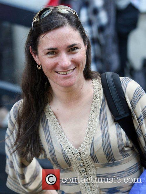 Sarah Storey at the ITV studios London, England