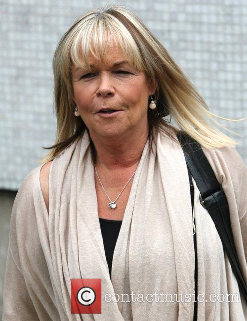 Linda Robson leaves the ITV studios London, England