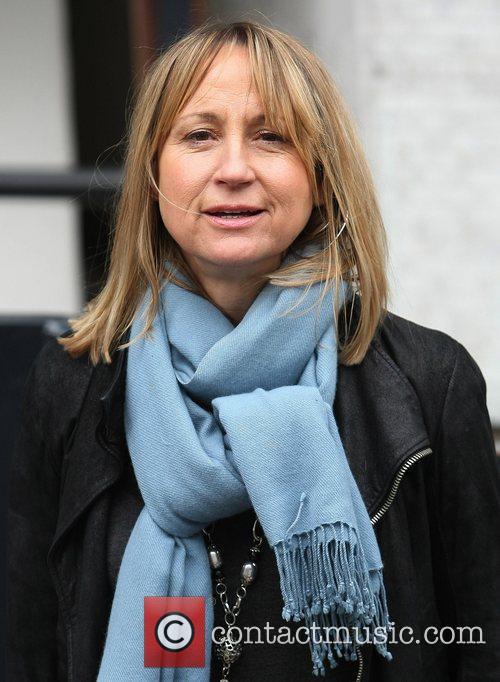 Carol McGriffin at the ITV studios London, England