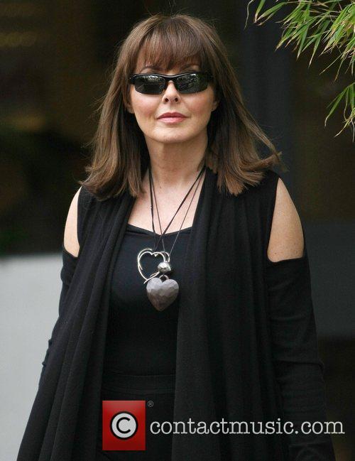 Carol Vorderman at the ITV studios London, England
