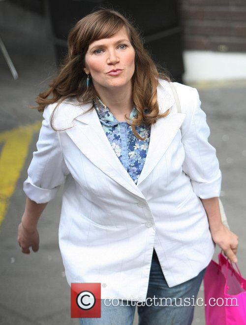 Jessica Hynes at the ITV studios London, England