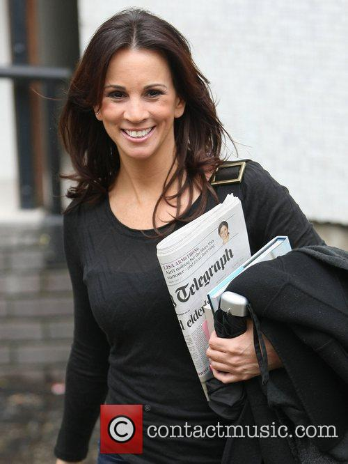 Andrea Mclean and Itv Studios 1